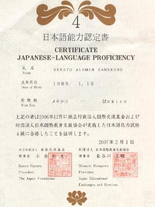 jlpt-certificate