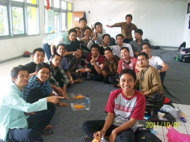 Peserta DM I Komsat Telkom Lembang Bandung