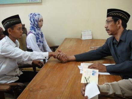 03 Akad Nikah diwakili oleh Wali dari Kantor Urusan Agama