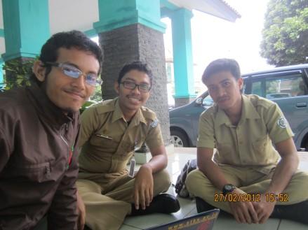 Joe, Muhni and Hakim