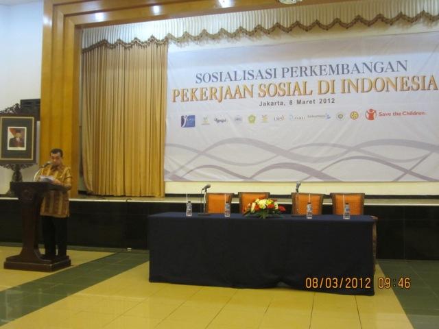 Dr Salim Segaf AJ dlm Sosialiasi Peksos Indonesia