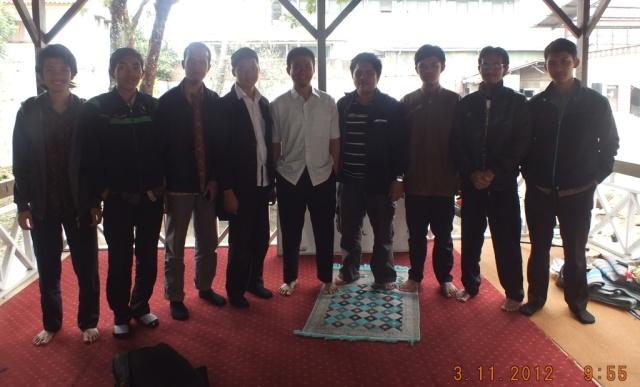 With Ustadz Abu Syauqi RZI