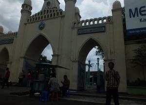 Joe di Masjid Agung Solo