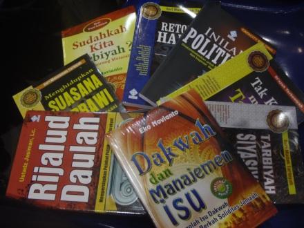 Hasil Beli Buku di IBF Jakarta 2013