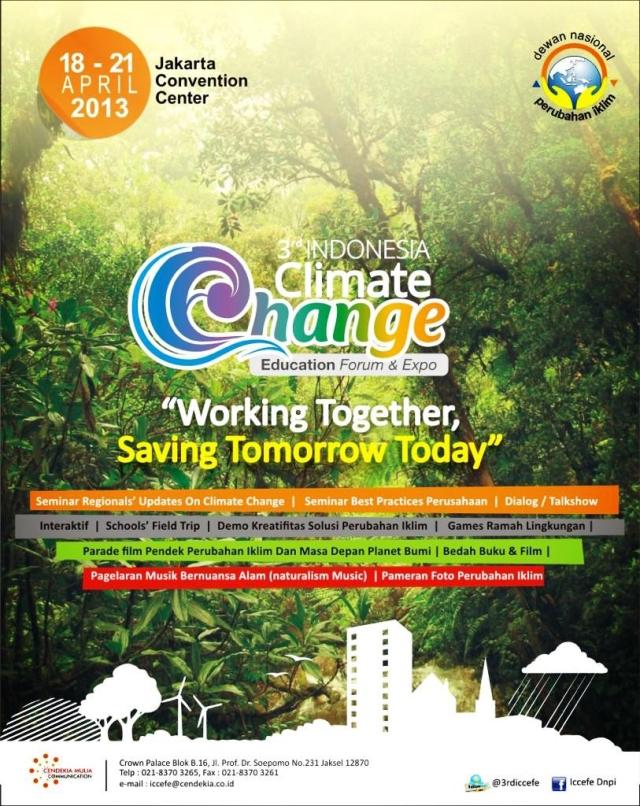 Brosur 3rd ICCEFE 18-21 April 2013 @JCC