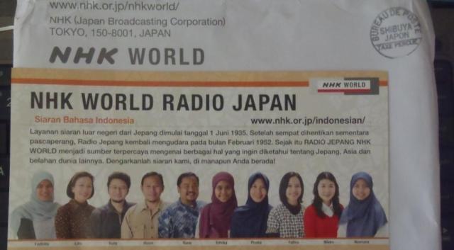Penyiar Radio NHK Bahasa Indonesia