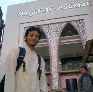 Joe at Al Hikmah 2012