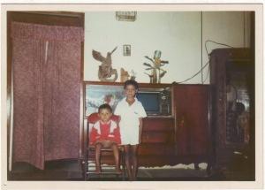 Joe dan Kak Cup saat berada di rumah Mbah Marni/Yasin Bancar