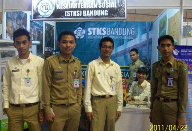Saat menjadi delegasi PTK Expo 2011 di Kampus STAN