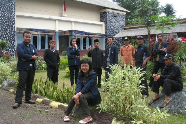 Mahasiswa Praktikum I di Desa Gandasoli Kabupaten Subang-Jawa Barat