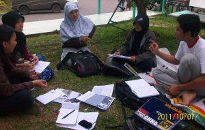Diskusi SSWD diikuti oleh adik tingkat dan mahasiswa Sp-1 (Pascasarjana STKS Bandung)