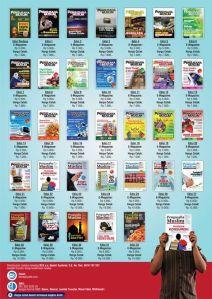 Publikasi majalah Pengusaha Muslim Edisi 01 sampai dengan 032