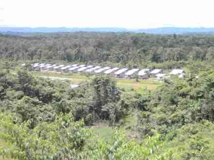 Pembangunan Rumah KAT di Papua