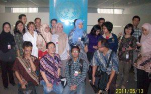 Mewakili KerLiP untuk rapat di UN Office Jakarta