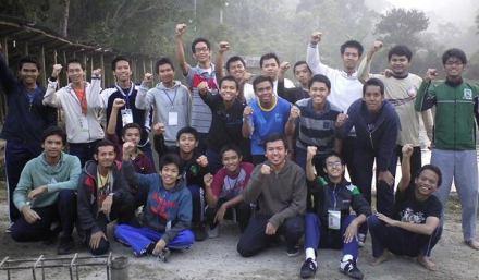 Pada saat pertama kali mengikuti Dauroh Marhalah 1 KAMMI di Lembang Bandung