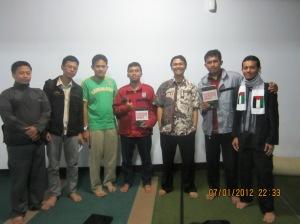 Mabit dan Bedah Buku bersama Ikhwah KAMMI Daerah Bandung