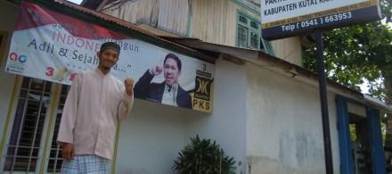 at Sekretariat DPD PKS Kukar