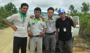 With Comvest and Land Distpute Department of PT. Silva Rimba Lestari