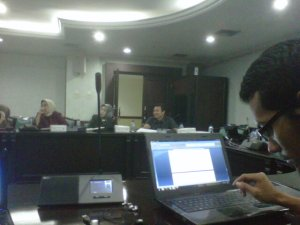 Rapat Persiapan International Consortium on Social Welfare mewakili FORKOMKASI