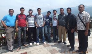 Di salah satu hotel mewah di Puncak, Bogor