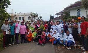 Bersama peserta capacity building Kelurahan Cijantung Jakarta Timur