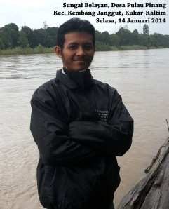 Joe at Sungai Belayan PP 2014