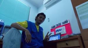Saat di Kantor Divisi DRM Direktorat Pendayagunaan PKPU Pusat, Lantai III