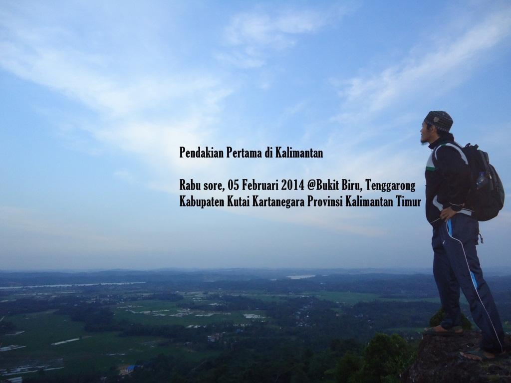 Pendakian Pertama Di Bukit Biru Tenggarong Kukar