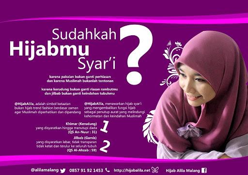 Anggun dengan Hijab Syar\u2019i*