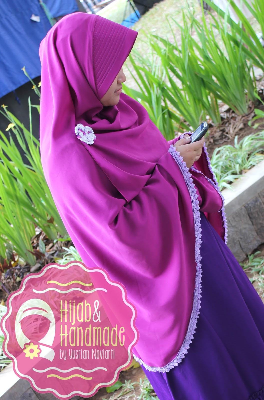 Anggun Dengan Hijab Syari
