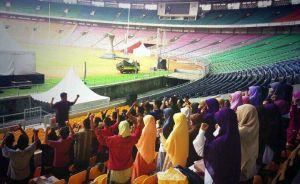 Gladi Bersih Kader PKS di Stadion Gelora Bung Karno, Sumber Gambar dari sini
