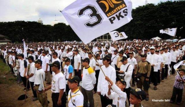 Apel Siaga Kader PKS di Jakarta