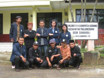 Praktikum I di Desa Gandasoli Kecamatan Tanjung Siang Kabupaten Subang-Jawa Barat