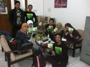 Team 5 with Panitia after Launching