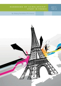 [September 2012] Handbook of Scholarship Study in France - PPI Perancis