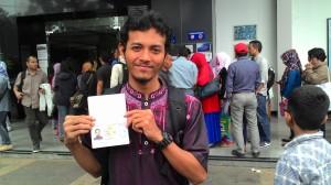 Akhirnya sudah membuat Paspor per akhir Bulan Desember 2014