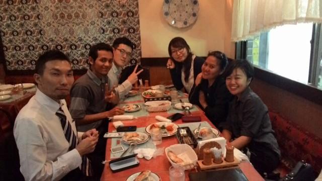 Makan malam di Restoran Halal Turki bersama Takashi san
