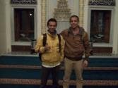 With Ahmed Nafi, Muslim warga negara Perancis