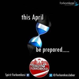 Be Prepared Kongres 4 FORKOMKASI Bdg 2015
