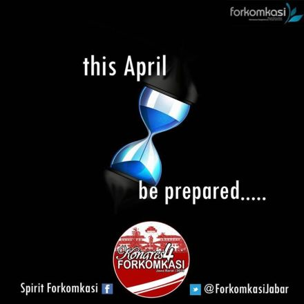 Be Prepared Kongres 4 FORKOMKASI Bdg 2015