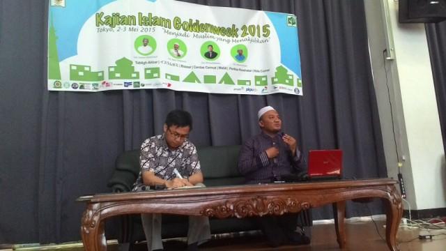 Ceramah Dr. H. Agus Setiawan, Lc. MA di Hall Sekolah Republik Indonesia Tokyo (SRIT), Meguro-Tokyo, JEPANG Ahad siang, 03 Mei 2015