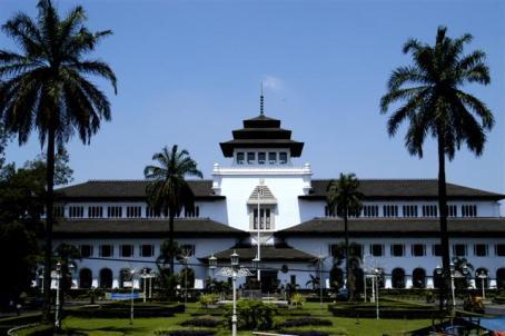 Gedung Sate di Bandung, Ibukota Provinsi Jawa Barat