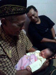 Bersama Mbah dan Pak Dhe, 16 Okt 2015