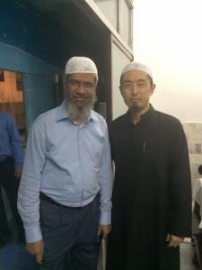 Ustad Salman with Dr. Zakir Naik