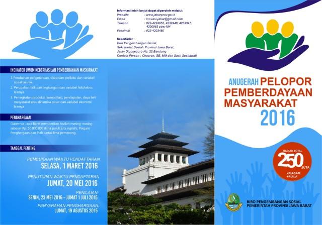 ANUGERAH 2016-PEMBERDAYAAN MASYARAKAT-LEAFLET
