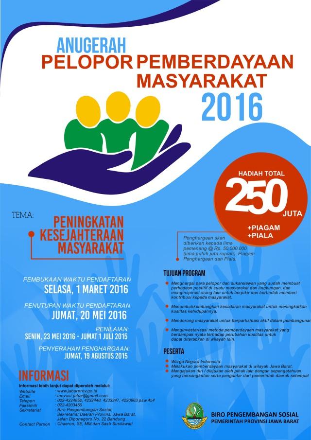 ANUGERAH 2016-PEMBERDAYAAN MASYARAKAT