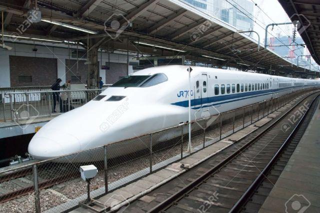 18431833-Tokyo-Japan-May-17-2012-Shinkansen-bullet-train-at-Tokyo-main-railway-station-in-May-17-2012-Tokyo-J-Stock-Photo