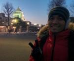 27 Jan 16 - Berlatar Gedung Parlemen Jepang di Kasumigaseki, Tokyo