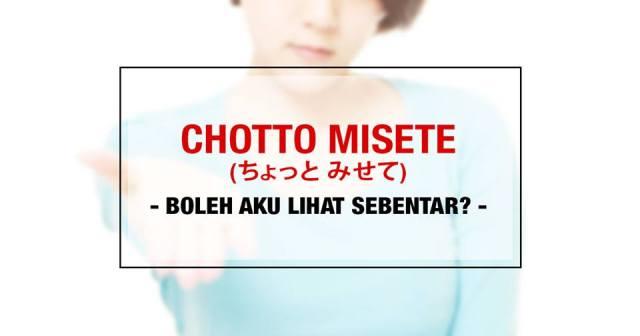 001-4-penggunaan-kata-chotto-chotto-misete