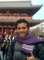 12 Feb 16 - At The Sensoji Temple, Asakusa - Tokyo